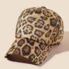 SHEIN Leopard Print Baseball Cap